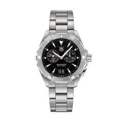 TAG Heuer Aquaracer 40.5mm Alarm Black Dial Men's Watch