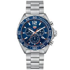 TAG Heuer Formula 1 43mm Blue Dial Chronograph Men's Watch