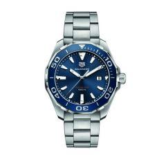 Tag Heuer Aquaracer Steel & Blue 43mm Men's Watch