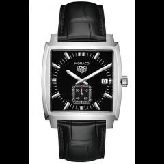 Tag Heuer Monaco Square Steel Black 37mm Men's Watch