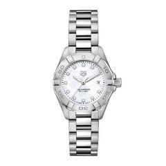 TAG Heuer Aquaracer Steel Diamond Mother of Pearl 27mm Women's Watch
