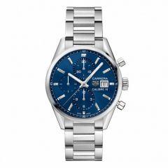 Tag Heuer Carrera Steel & Blue 41mm Automatic Men's Watch