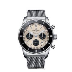 Breitling Superocean Heritage II B01 Chronograph Steel Black 44mm Automatic Men's Watch