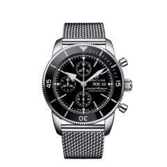 Breitling Superocean Heritage II Chronograph Steel Black 44mm Automatic Men's Watch