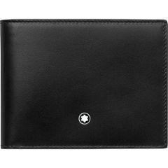 Montblanc Meisterstück Black & Blue Leather 6cc Wallet