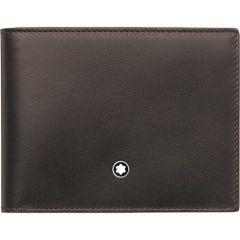 Montblanc Meisterstück Brown & Tan Leather 6cc Wallet