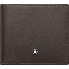 Montblanc Meisterstück Brown & Tan 4cc Wallet with Coin Case