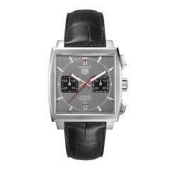 TAG Heuer Monaco Chronograph Steel Grey & Black 39mm Automatic Watch