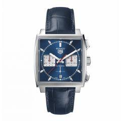 TAG Heuer Monaco Chronograph Steel & Blue 39mm Automatic Watch