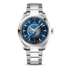 OMEGA Seamaster Aqua Terra Steel 43 mm GMT Worldtimer Watch