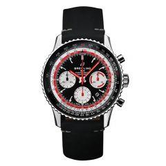Breitling Navitimer 1 B01 Chronograph Swissair Edition Steel 43mm Men's Watch
