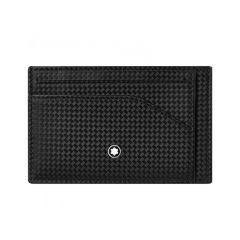 Montblanc Extreme 2.0 Black Leather 6cc Pocket Card Holder
