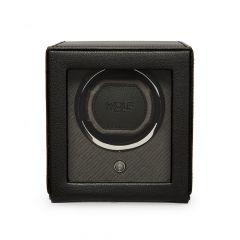 WOLF Cub Single Watch Winder in Black