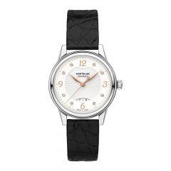 Montblanc Bohème Diamond Steel & Black 30mm Automatic Women's Watch