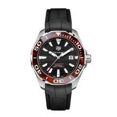 TAG Heuer Aquaracer Steel Tortoiseshell & Black 43MM Automatic Watch