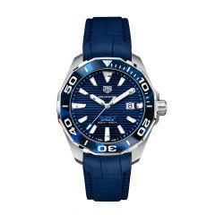 TAG Heuer Aquaracer Steel Tortoiseshell & Blue 43MM Automatic Watch