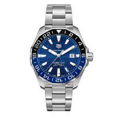 TAG Heuer Aquaracer Steel & Blue Sunray 43MM Automatic Watch
