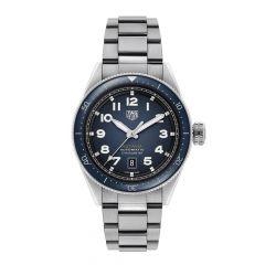TAG Heuer Autavia Calibre 5 Steel & Blue Dial 42mm Automatic Men's Watch