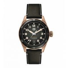 TAG Heuer Autavia Calibre 5 Bronze & Khaki Leather 42mm Automatic Men's Watch
