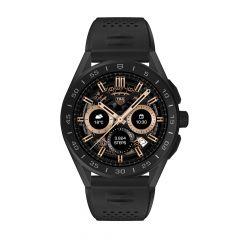 TAG Heuer Connected Black Titanium & Black Rubber 45MM Men's Smartwatch