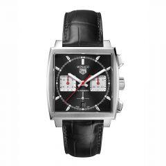 TAG Heuer Monaco Chronograph Steel & Black 39mm Automatic Watch