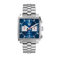 TAG Heuer Monaco Chronograph Blue & Steel Bracelet 39mm Automatic Watch