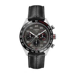 TAG Heuer Carrera Porsche Chronograph Special Edition Steel & Black 44MM Watch