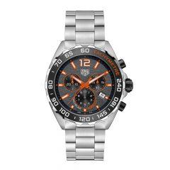 TAG Heuer Formula 1 Steel & Orange 43MM Chronograph Watch