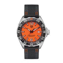 TAG Heuer Formula 1 Steel Orange & Black 43MM Men's Watch