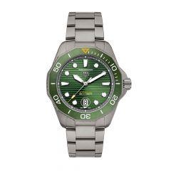 TAG Heuer Aquaracer Professional 300 Titanium & Green 43MM Automatic Watch