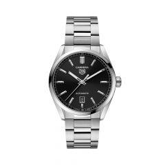 TAG Heuer Carrera Steel & Black 39MM Date Automatic Watch