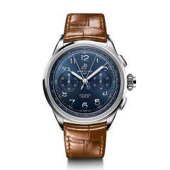 Breitling Premier Heritage B15 Duograph Steel & Blue Dial 42MM Watch