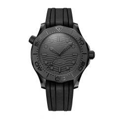 OMEGA Seamaster Diver 300M Black Ceramic & Rubber Strap 43.5MM Watch