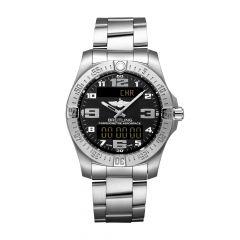 Breitling Aerospace Evo Titanium & Black Dial 43MM Chronograph Watch