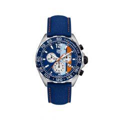 TAG Heuer Formula 1 Steel Blue 43mm Men's Watch