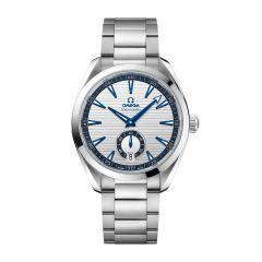 OMEGA Seamaster Aqua Terra 150M Steel & Blue 41MM Small Seconds Watch