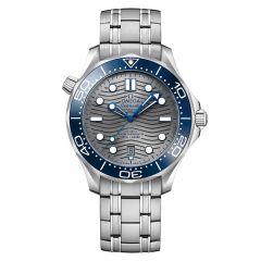OMEGA Seamaster Diver 300m Steel Bracelet & Grey 42mm Automatic Men's Watch