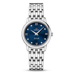 OMEGA De Ville Prestige 27.4mm Steel Diamond Women's Watch
