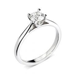 Arch Diamond Engagement Ring