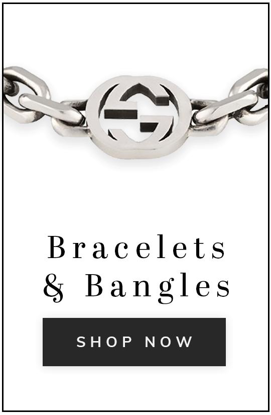 A Gucci bracelet with text bracelets and bangles shop now